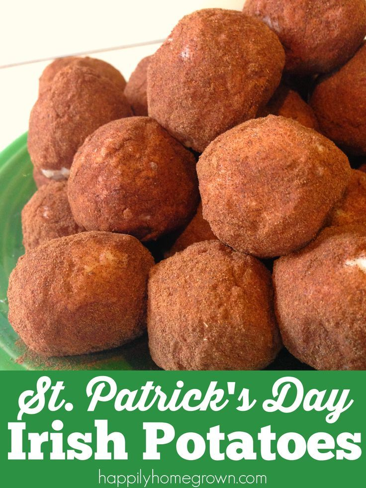 Irish Potatoes have very little to actually do with potatoes; potatoes aren't even an ingredient! However, these bite size confections look like petite russet potatoes. They are also super easy to make and the perfect treat for St. Patrick's Day!