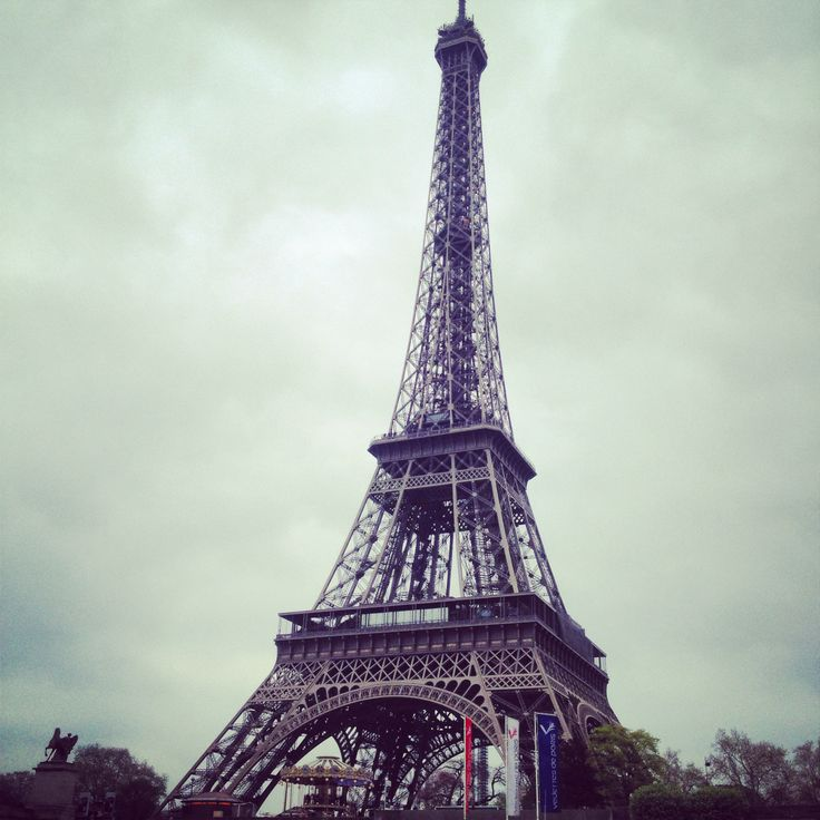 The Eiffel Tower 4/4/14 - Paris