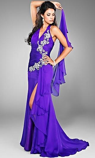LOL! This is Gypsy's favorite Purple Dress!