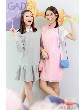 Have a double date with BFF and her boyfriend? Try this color pastel and you both will look sweet :)