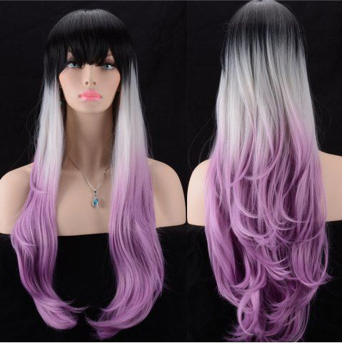 GET $50 NOW | Join RoseGal: Get YOUR $50 NOW!http://www.rosegal.com/synthetic-wigs/ultra-long-full-bang-slightly-962916.html?seid=7434598rg962916