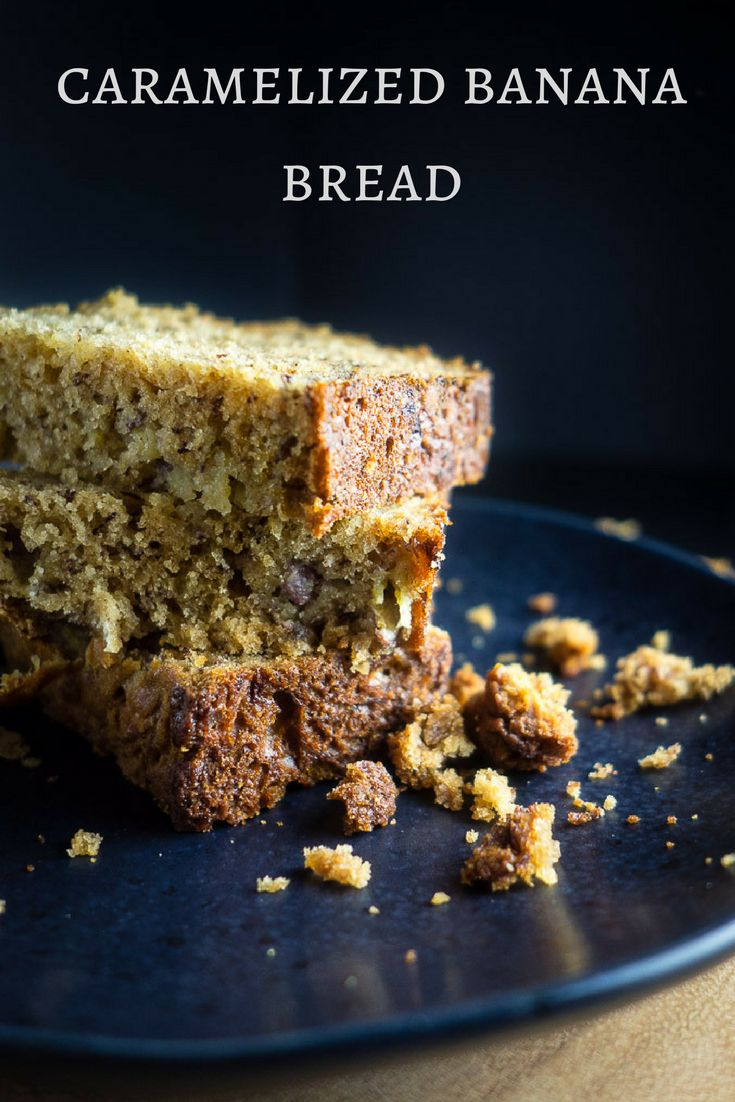 This easy caramelized banana bread is packed full of ripe bananas and made with brown sugar for that caramelized flavor. Takes less than 1 hour from start to ready-to-eat! moist banana bread   best banana bread   quick banana bread   classic banana bread   cinnamon banana bread   paleo banana bread } healthy banana bread   brown sugar banana bread   simple banana bread   buttermilk banana bread via @Went Here 8 This