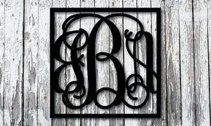 Decorate your home's interior or exterior with custom metal artwork available in your choice of colors