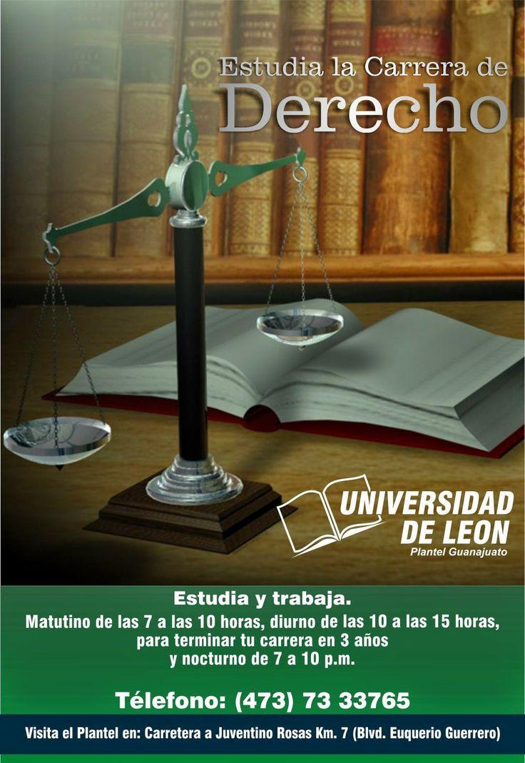 Carrera de derecho, Universidad de León