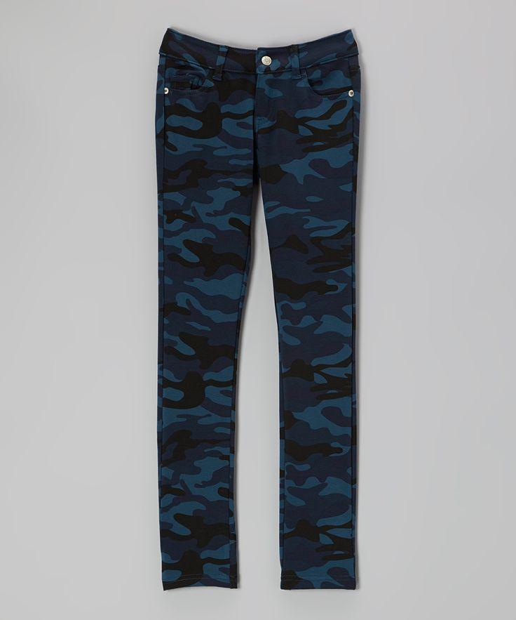 Blue Carmo Skinny Pants