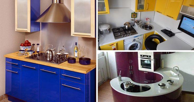 Máte malú kuchyňu? Prinášame vám 35 krásnych inšpirácií, ako vykúzliť aj na malom priestore krásny výsledok!