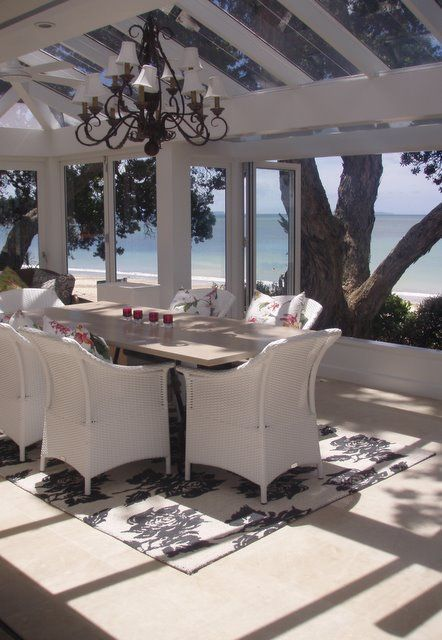Dining with a sea view