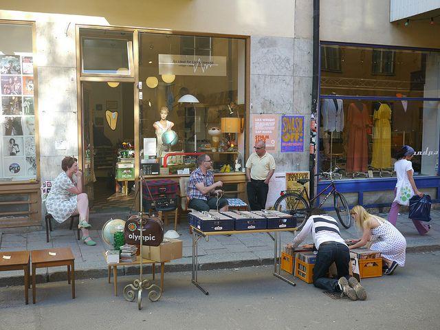 Secondhand shop in Sofo, Stockholm by elisabet.s, via Flickr