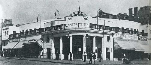 Johannesburg's Orpheum Theatre was opened in 1911 and was situated at   the corner of Jeppe and Joubert Streets. The building was eventually   demolished to make way for the famous multi-storeyed Anstey's Building