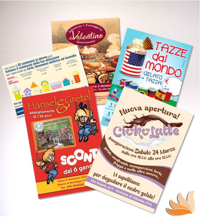 FLYERS!!! Di tutti i formati e di tutti i colori... #adv #flyers #prints
