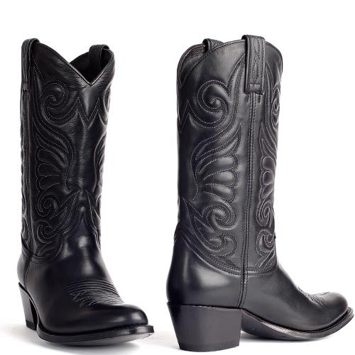Sendra Bartolo Negro 11627 westernlaarzen - Western Boots for woman in Black. International shipping -> free shipping in Europe. E-mail us!