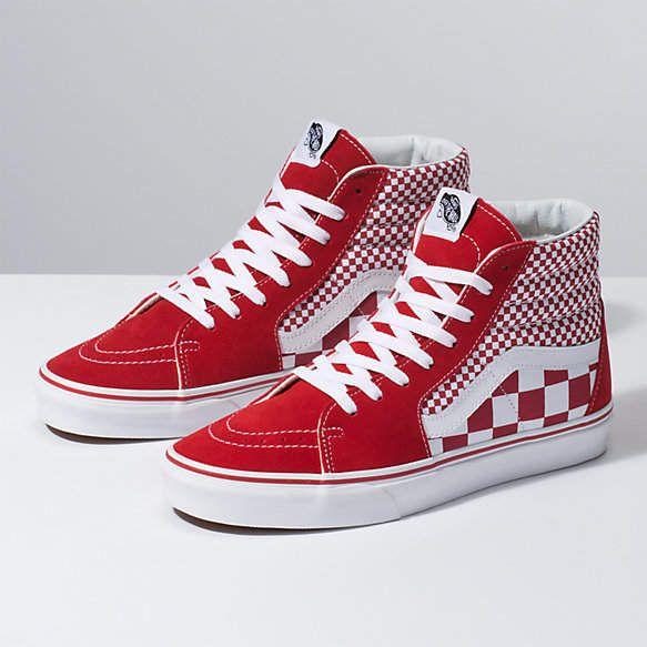 Mix Checker Sk8-Hi | Vans shoes high