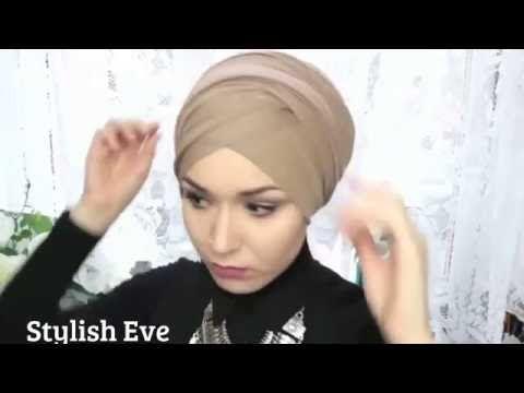 Как красиво и легко завязать платок тюрбан!!! 2016 - YouTube