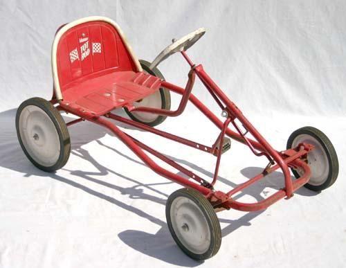 "390: Murray ""Tot Rod"" Go Kart form pedal car - 39"" long : Lot 390"