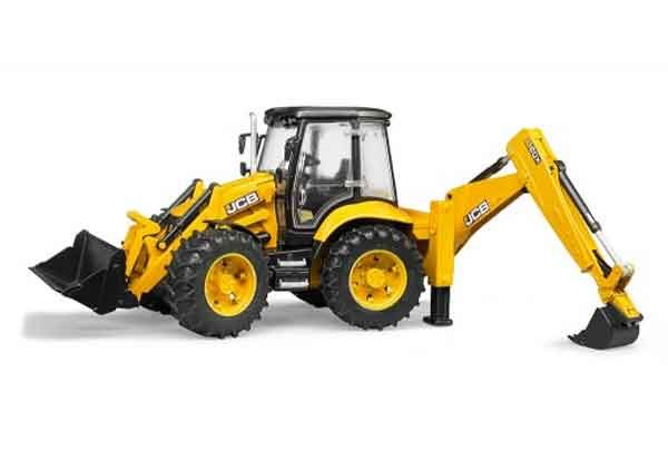02454 - Bruder JCB 5CX Eco Backhoe Loader High