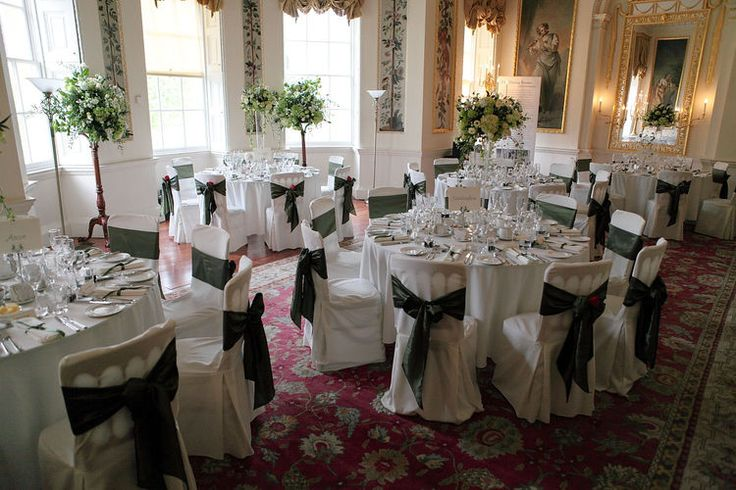 The wedding breakfast at Danson House