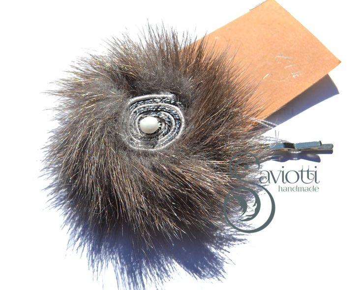 Soutache & Fur #17 : Accessori per capelli di saviotti-handmade