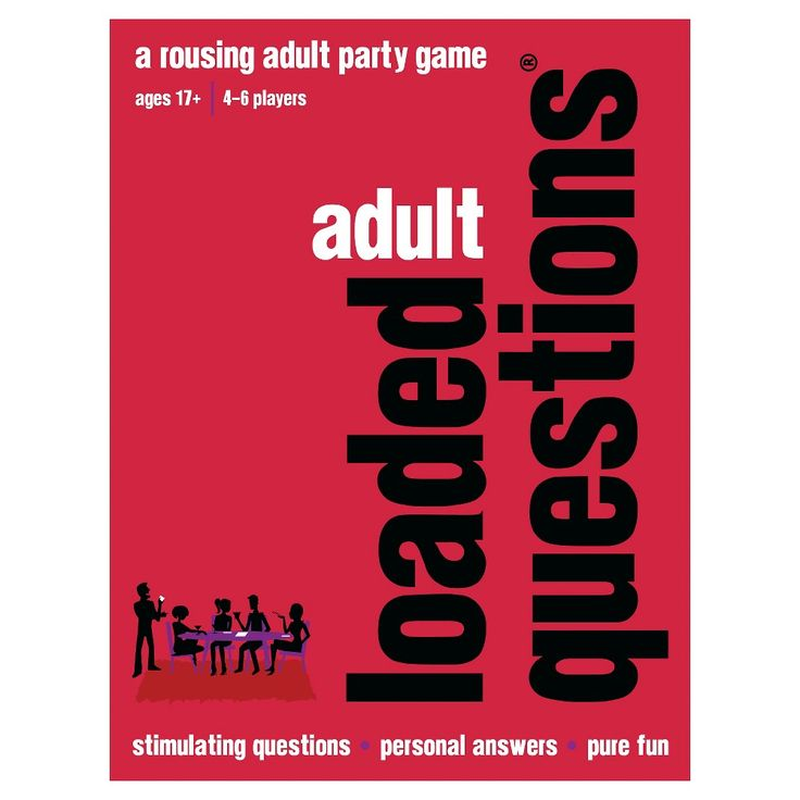 Loaded Questions Adult Party Game