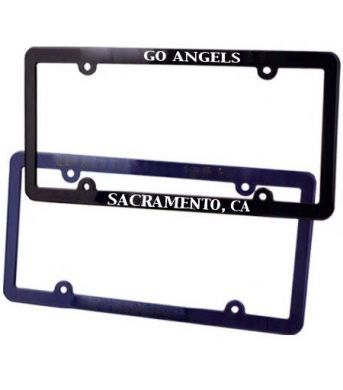 Custom car license plate frames. These plastic license plate frames are printed license plate frames with your logo. Great Wholesale dealership auto frames for selling cars. Personalized license plate holders & wholesale license plate frames! Nashville, TN PLA1117 http://www.alphapromoworld.com/auto/cycle-products/wholesale-license-plate-frames/custom-license-plate-frames/cat_117.html 321-751-0022