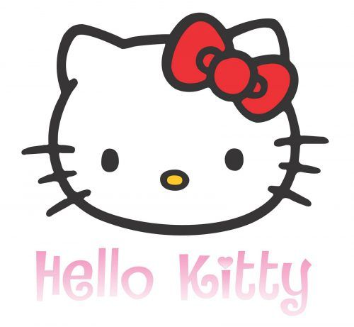 I share you this Hello Kitty clipart with image of Kitty's head with her name in pink color and cute font. Hello Kitty is a famous and favorite animation character. People also call the character of Hello Kitty with several names such as Helo Kitty, Hello Kity, Kolle Kitty, Helllo Kitty.