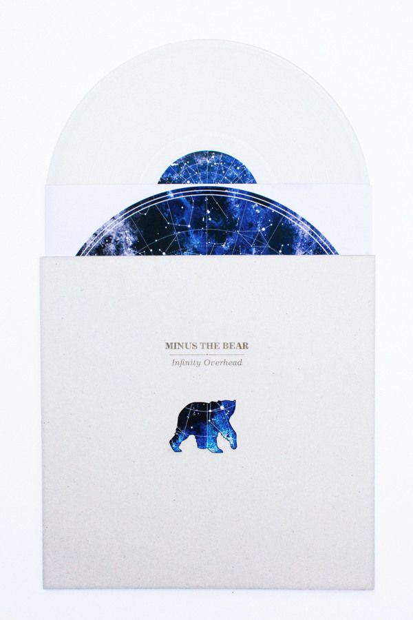 Vinyl Redesign: Minus the Bear by Irina Wang, via Behance graphic illustration packaging