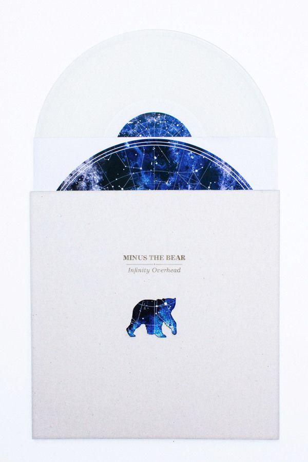 Vinyl Redesign: Minus the Bear by Irina Wang, via Behance