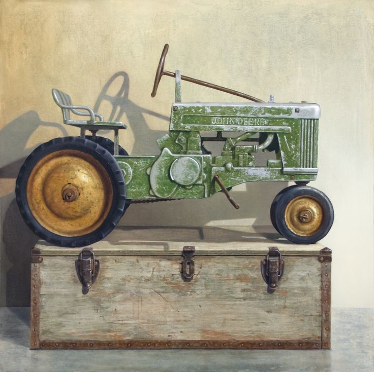"""Going Green"" Available as a giclee print on paper and canvas. www.richardhallfineart.com"
