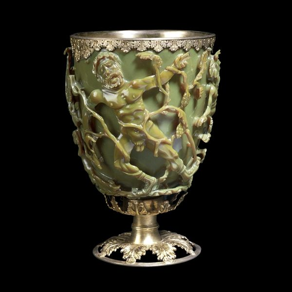 The Lycurgus Cup    Late Roman, 4th century AD  Probably made in Rome