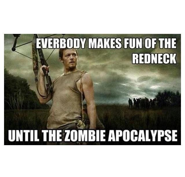 Daryl Dixon - Walking Dead #TWD  #WalkingDead #Zombies #Rednecks