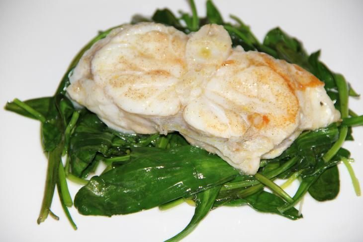 Pan fried monkfish - Gebakken zeeduivel