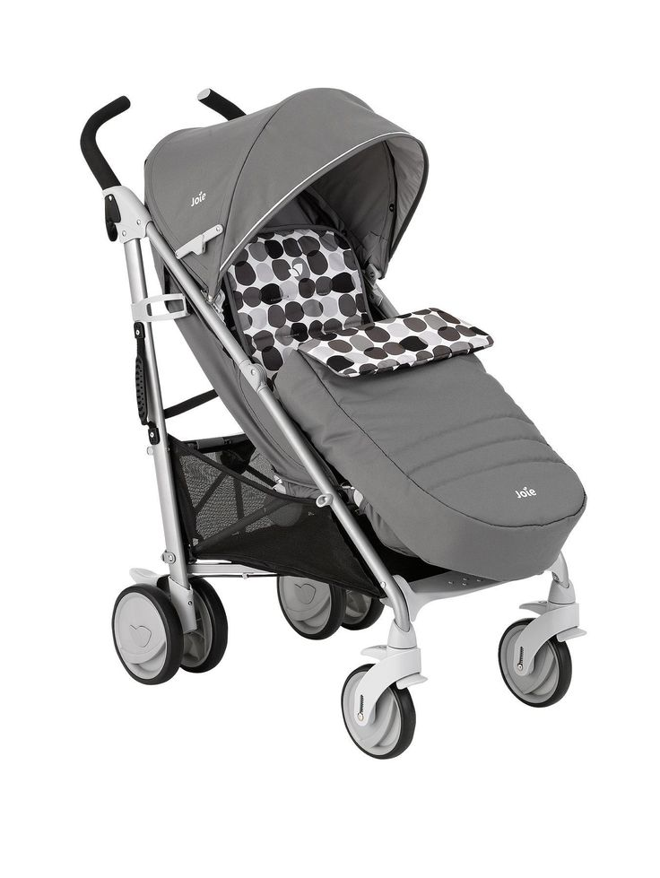 Joie Brisk+ Stroller with Footmuff | very.co.uk