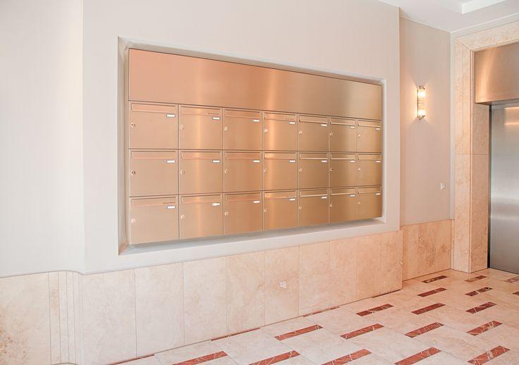 Briefkastenanlage Aufputz in vielen Designs und Farben erhältlich. Sprechen Sie uns an 0821-60 99 20 10
