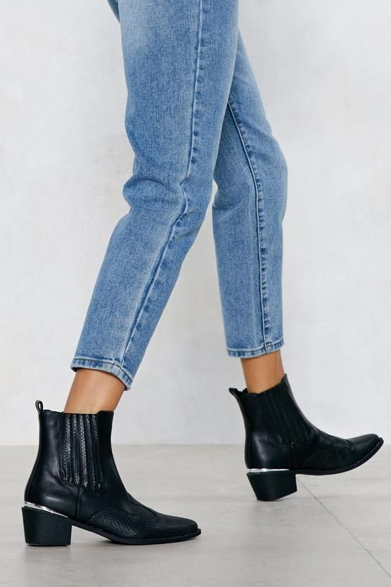 4e45f29eed I Love Croc  N Roll Faux Leather Boot