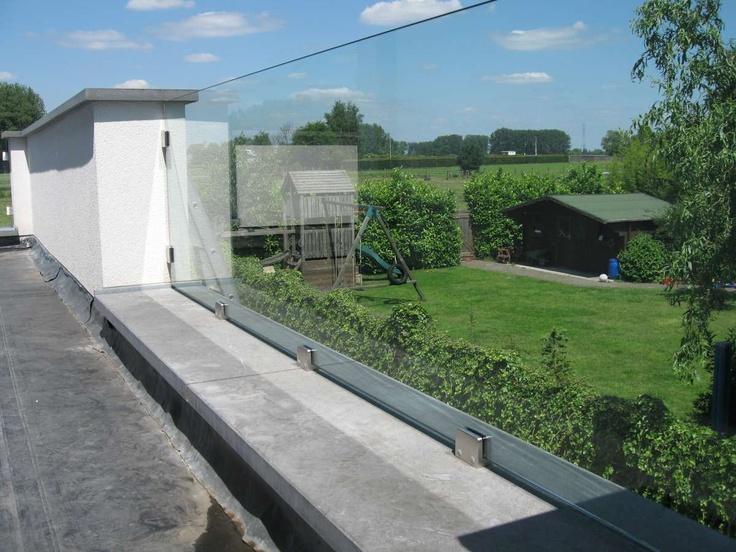 Glazen balustrades - Urban Steel