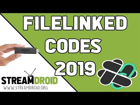 TOP 50 BEST FILELINKED CODES 2019 FOR FIRESTICK (ANDROID TV