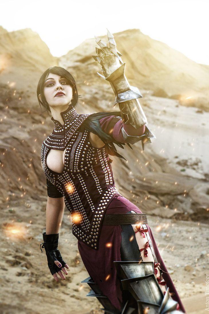Dragon Age II - Morrigan cosplay by senedy on DeviantArt
