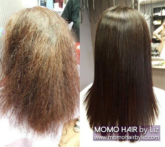 Japanese Hair Straightening Picture Gallery | momo hair - Toronto