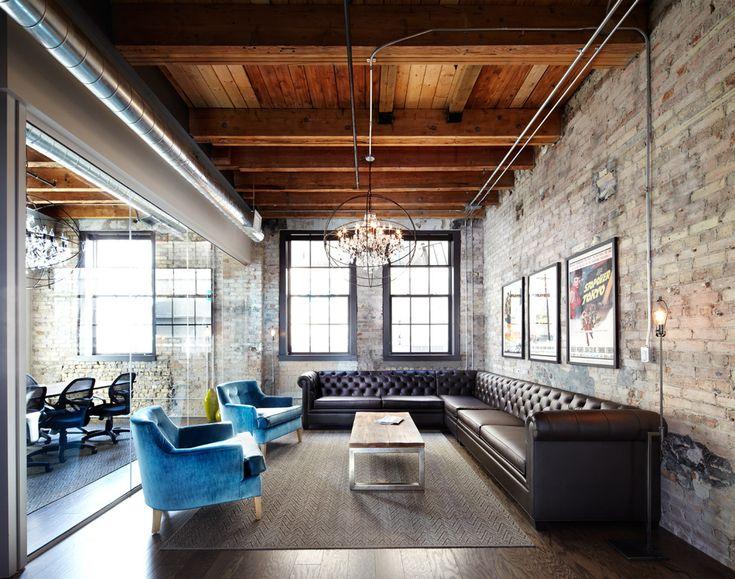 image result for industrial masculine office industrial design interiorsmodern