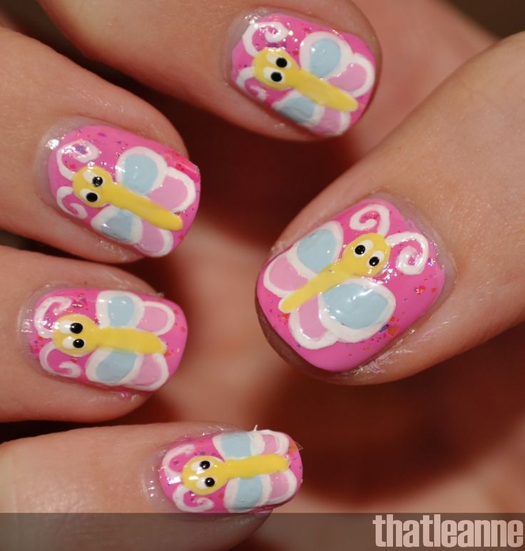 36 best Nailed It! images on Pinterest | Kid nails, Baby girl nails ...