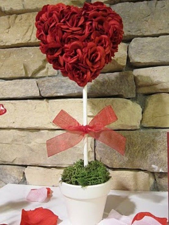 Heart Romantic Table Decoration, 2014 Valentines Day table decor
