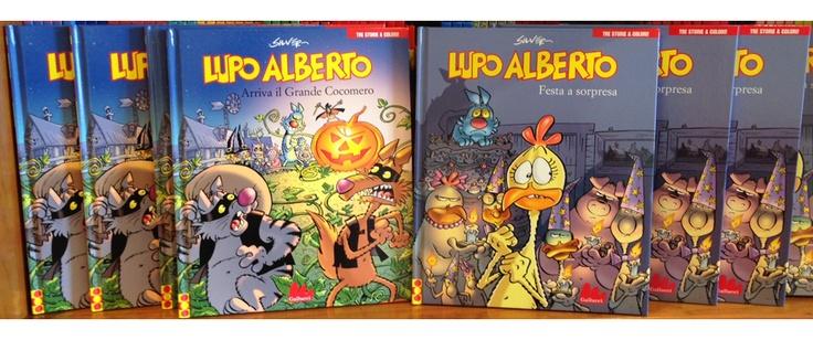 """""""Lupo Alberto Festa a sorpresa"""" e """"Lupo Alberto Arriva il Grande Cocomero"""" di Silver    www.galluccieditore.com/447.htm  www.galluccieditore.com/448.htm"""
