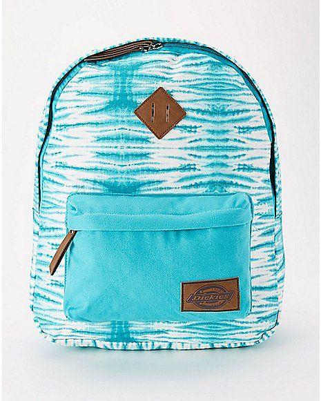 Dickies Tie Dye Backpack - Turquoise - Spencer's