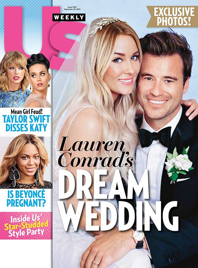 OMG, how gorgeous is Lauren Conrad's wedding look?! LOVE!