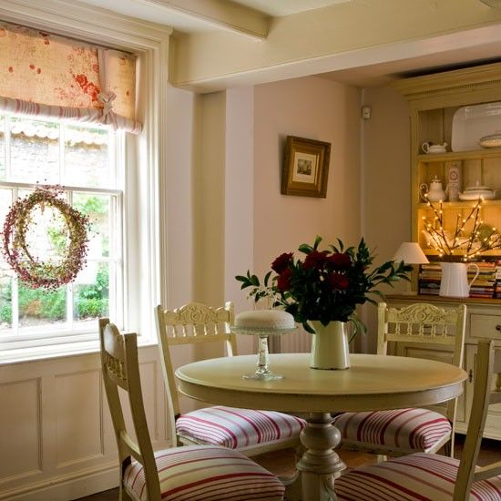 Home Shabby HomeEnglish Country Chic House French Dining RoomsCountry