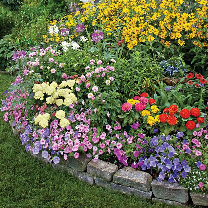 Plant This Boisterous Summer Mix Of Colorful Annuals And Perennials.     Loweu0027s Creative Ideas