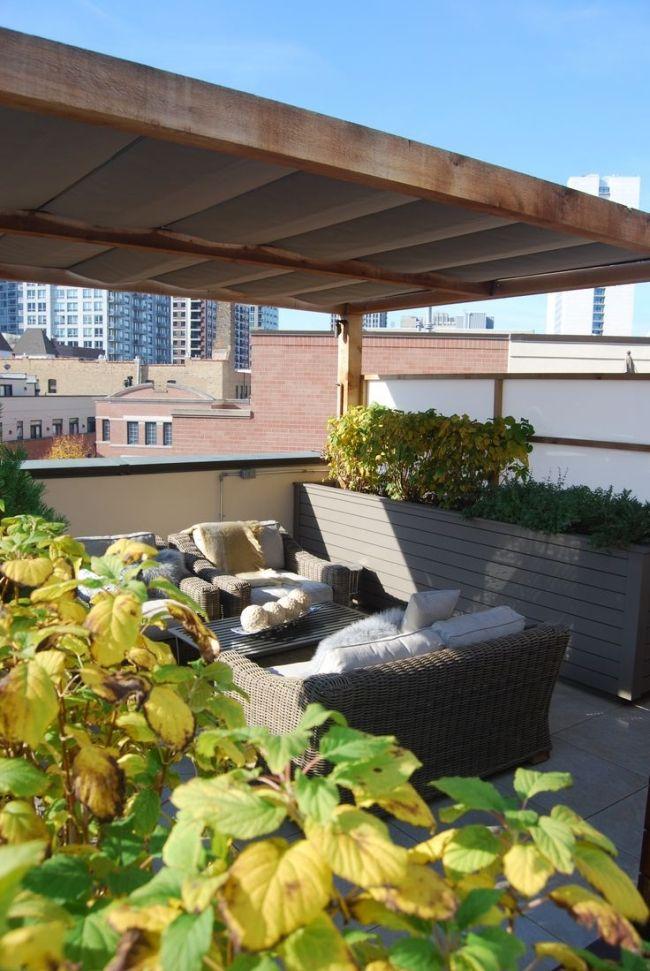 Setting Up A Mini Garden in Pergola Deck   Pergolas / Gazebo