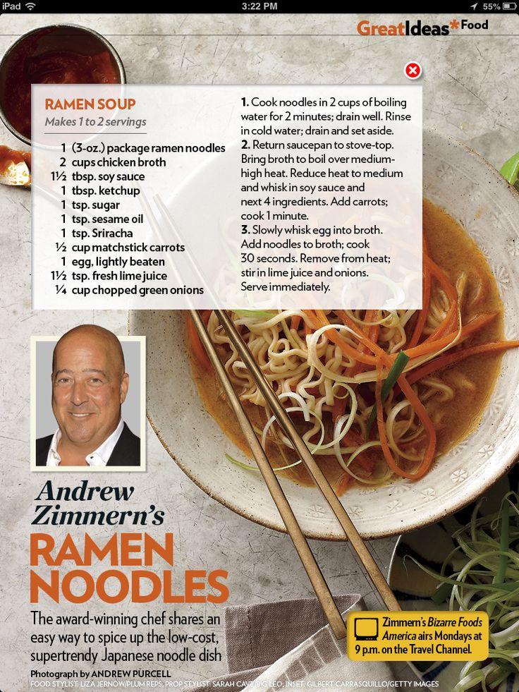 Ramen Noodles (use veggie broth instead)