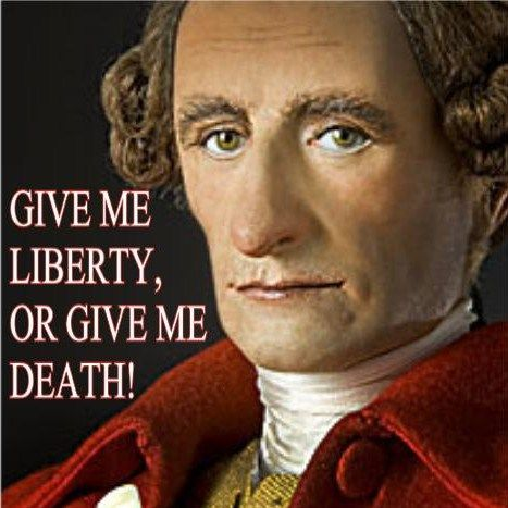 give me liberty or give me death rhetorical Give me liberty or give me death definition at dictionarycom, a free online dictionary with pronunciation, synonyms and translation look it up now.