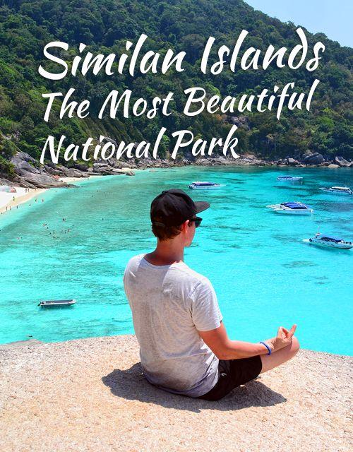 Similan Islands – the Most Beautiful National Park