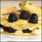 A recipe for Blackberry Brie Omelet from the Fancy Omelettes Breakfast Recipe Collection. Ingredients, instructions, comments and reviews. Makes 4 servings.